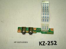 HP CQ70-253EG Soundkarte Platine Anschluss #KZ-252