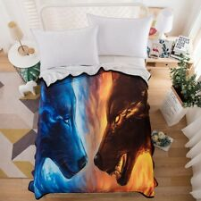 Wolf Animal Blanket Throw Rug 150x200cm Sofa Bedding Cover Home Decoration New