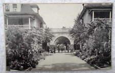 POSTCARD BENTON HARBOR MICHIGAN HOUSE OF DAVID ARCH PEOPLE HOME #21