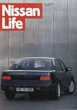 Nissan Live 1989 2/89 200 SX Maxima Paris Dakar Prairie Pro Auto Zeitschrift