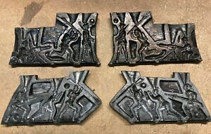 Vintage lead casting mold for lead soldiers