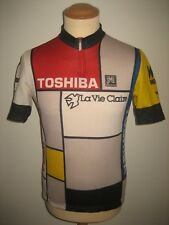 La Vie Claire Wonder Radar 1986 vintage jersey shirt cycling maillot size M