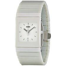 Rado Ceramica White Dial White Ceramic Mens Watch RADO-R21711022