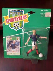 Sportstars (Starting Lineup) 1989 - Mo Johnston Scotland - Football (Soccer)