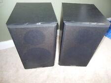 Paradigm Titan Speakers Performance Series Model Black Bookshelf