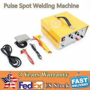 80A Pulse Sparkle Spot Welder Platinum Gold Silver Jewelry Welding Machine 110V