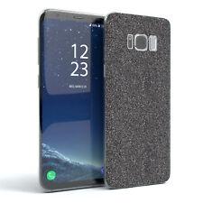 Schutz Hülle für Samsung Galaxy S8 Glitzer Cover Handy Case Anthrazit