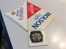 Molson ale Plastic label puzzle pieces - 4