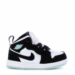 Nike Air Jordan 1 Mid SE 'Glow in the Dark Panda BQ6933-103 White Teal Tint TD