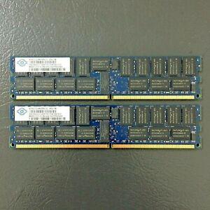 Nanya 2 x 4GB DDR2 PC2-5300 Registered ECC SERVER RAM kit.