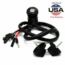 For Ignition Two Keys Switch Kit 86 87 Trx350 Atv Fourtrax Parts