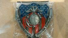 Us marine corps belt buckle
