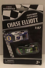 Chase Elliott #9 NASCAR Authentics 2020 Wave 01 1/87 Die-Cast 2 Pack