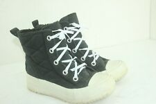 CONVERSE ALL STAR BOOTS SIZE 7.5 WOMEN'S BLACK IN GOOD CONDITION