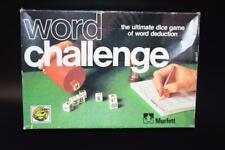 Vintage Murfett Game - WORD CHALLENGE - Dice Game - Word Deduction - Egg Timer