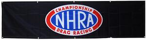 NHRA Flag Racing Hot Rod 2x8ft Banner