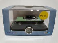 Oxford Diecast 76CRE011 Vauxhall Cresta sedan Versailles Green and Black 1/76