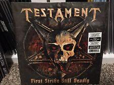 "TESTAMENT - First Strike Still Deadly - GREEN VINYL + 7"" -  2 LP record legacy"