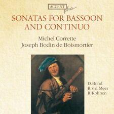 Corrette, De Boismortier: Sonatas for Bassoon and Continuo / Bond, Kohnen, Me CD