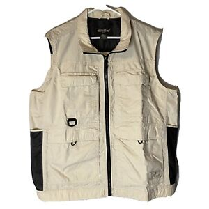 Eddie Bauer Outdoor Outfitter Fishing Hiking  Vest Size Large