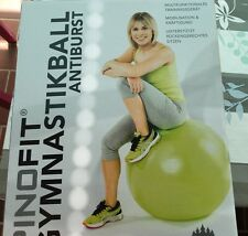 Gymnastikball antiburst Pezziball von Pino 65 cm apfelgrün Neu!!!