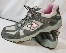 New Balance 410 Women's Gray Pink All Terrain Athletic Running Walking Shoe Sz 9