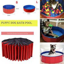 New Pet Pool Puppy Bathtub Foldable Bath Paddling Swimming Dog Bath