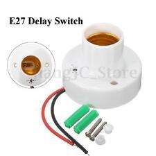 E27 Sound Voice Light Bulb Lamp Holder Control Delay Sensor Switch Adapter Base