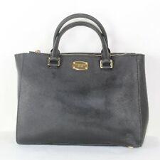 MICHAEL MICHAEL KORS Black Saffiano Leather Classic Tote Bag