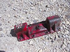 Farmall 300 RC tractor bottom housing implement mounting plate brace bracket