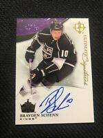 2010-11 UPPER DECK ULTIMATE BRAYDEN SCHENN ULTIMATE SIGNATURES AUTO US-BA