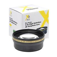 55mm XIT Pro 2.2x High Definition Telephoto Lens for Sony A290 A380 A390 A800