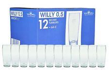 12er Set Bierglas Willibecher 0,5l geeicht Biergläser Glas Gastronomie Gläser