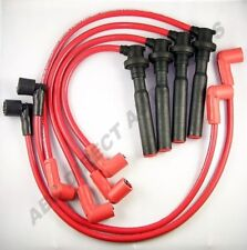 Nova Corolla MR2 1.6L High Performance 10 mm Red Spark Plug Wire Set 28118R