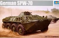 Trumpeter 1:35 SPW-70 German Armoured Personnel Carrier Vehicle Model Kit
