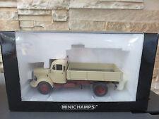 MINICHAMPS MERCEDES-BENZ L 3500  ED LIMITEE 1500 EX 1/43 EN BOITE TBE