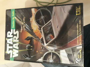 Starfigther Guerriers des Etoiles X-wing TIE VF Jeux Descartes Star Wars 1989