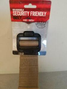 Tru-Spec Security Friendly Belt All Sizes All Colors Tactical