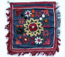 UZBEK SILK HANDMADE EMBROIDERY OYNA HALTA FABULOUS INTERIOR DECORATION
