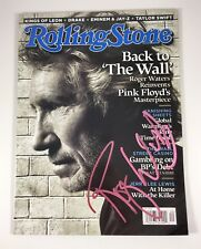 Roger Waters Floyd Signed Autographed Rolling Stone Magazine Sept 2010 PROOF COA