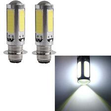 2X H6M COB 51 LED 25W Turn Signals White Light Lamp Motor Indicator Bulb DC 12V