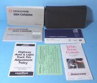04 2004 Dodge Caravan owners manual
