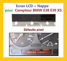Ecran lcd compteur odb porte instrument tableau bord BMW E38 E39 X5 NEUF