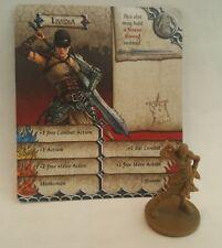LIVIDIA - Furiosa - Mad Max Fury Road - Zombicide Green Horde - Miniature & card