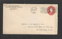 1914 PEERLESS GROCERY COMPANY NEWARK NJ ADVERTISING COVER US STAMPED ENVELOPE
