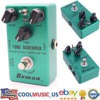 MOSKY Demon TS808 Tube Screamer Overdrive Vintage Electric Guitar Effect Pedal