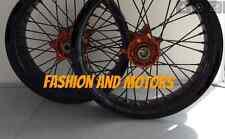 ***FA-BA*** COPPIA CERCHI RUOTE MOTARD SUPERMOTO KTM SX SXF EXC   wheel