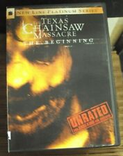 TEXAS CHAINSAW MASSACRE: THE BEGINNING DVD unrated mid-00's horror R. Lee Ermey
