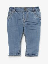 John Lewis & Partners Baby Stretch Denim Jeans Blue 12-18 MTHS BEST PRICE