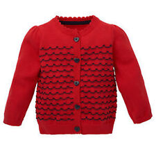 100% Cotton Girls' Jumpers and Cardigans 0-24 Months